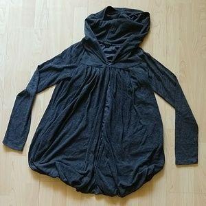 Cozy Forever 21 dark grey hoodie